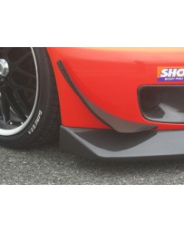 ChargeSpeed S2000 AP-1/2 Carbon Front Canard for Wide Body