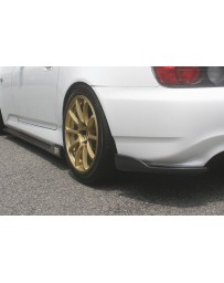 ChargeSpeed S2000 AP-1 Bottom Line Rear Caps Carbon