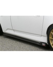 ChargeSpeed S2000 AP-1/2 Bottom Line Side Skirts Carbon