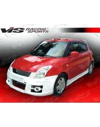 VIS Racing 2005-2008 Suzuki Swift 4Dr A Tech Front Bumper