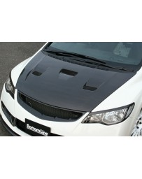 ChargeSpeed 06-10 Civic Sedan Vented Carbon Hood