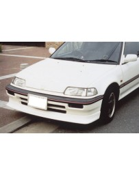 ChargeSpeed 88-89 Civic EF HB Zenki Front Spoiler CARBON