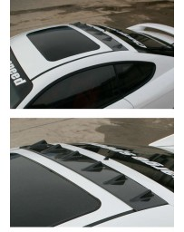 ChargeSpeed 2003-2006 Tiburon GK Carbon Roof Fin