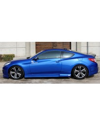 ChargeSpeed Hyundai Genesis Coupe Side Skirts Pair