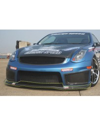 ChargeSpeed 03-07 Infiniti G-35 Coupe Carbon Under Cowl