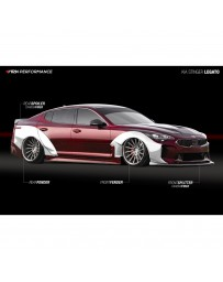 ARK Performance Legato Complete Wide Body Kit Kia Stinger (18+)