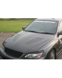 ChargeSpeed Lexus IS300 Vented FRP Hood