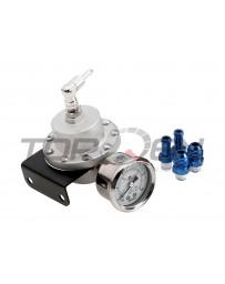 370z P2M Fuel Pressure Regulator Version 2.5 with Gauge, Large - Universal