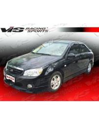 VIS Racing 2005-2008 Kia Spectra 4Dr Fuzion Side Skirts