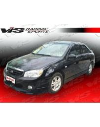 VIS Racing 2005-2008 Kia Spectra 4Dr Fuzion Side Skirts