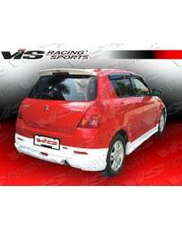 VIS Racing 2005-2008 Suzuki Swift 4Dr A Tech Rear Lip