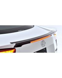 Artisan Spirits Black Label Rear Center Spoiler (FRP) - Lexus LFA 2011