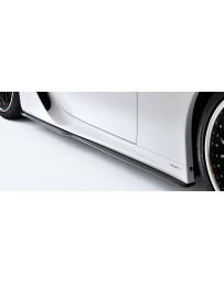 Artisan Spirits Black Label Side Under Spoiler (CFRP) - Lexus LFA 2011