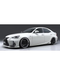 Artisan Spirits Black Label Side Under Spoiler (FRP) - Lexus IS F Sport GSE/AVE/ASE 2016-