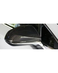 Artisan Spirits Black Label Mirror Cover (CFRP) - Lexus NX 200t/300h F-Sport 2014-2016