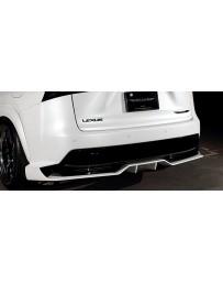 Artisan Spirits Black Label Rear Diffuser (FRP) - Lexus NX 300h F-Sport 2014-2016