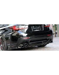 Artisan Spirits Z's Sports Line Exhaust (Ti Body/ Carbon Tip) - Lexus RC-F USC10 14-18