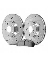 Toyota GT86 Hawk Sector 27 Rear Rotors and HPS 5.0 Pads Kit