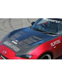 ChargeSpeed 2016-2021 Miata MX5 ND FRP Vented Hood