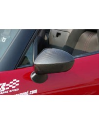 ChargeSpeed 2016-2020 Miata MX5 ND Door Mirror Cowl Dry Carbon