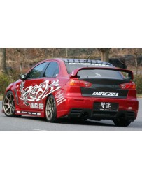 ChargeSpeed 08-16 Mitsubishi Lancer Evo X Type-1 Rear Bumper