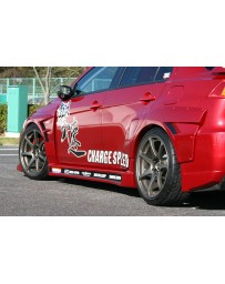 ChargeSpeed Evo X 20MM D-1 Style Blister Wide Rear Fenders 4PC