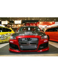 ChargeSpeed 08-16 RalliartEvo X CS T1 Front Side Duct Cowl CF