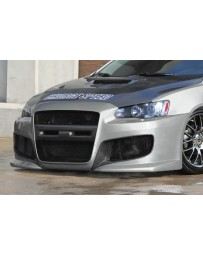 ChargeSpeed 08-17 Mitsubishi Lancer/ Ralliart/ HB Front Bumper