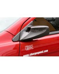 ChargeSpeed 08-17 Lancer EX/ Ralliart/ Evo X Aero Mirror FRP