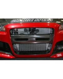 ChargeSpeed Ralliart Evo X Center Garnish CF for T1 CS Bumper