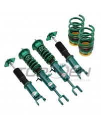 "370z Tein 0.5""-4.9"" x 1.2""-2.8"" Flex Z Front and Rear Lowering Coilover Kit"