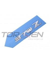 "370z Nissan OEM Rear Boot Emblem ""370Z"""