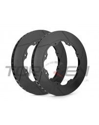 R35 GT-R Racing Brake RB Slotted Rear Rotor Disc Rings - OEM Replacement 09+
