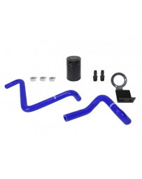 Toyota GT86 Mishimoto Blue PVC Side Baffled Oil Catch Can