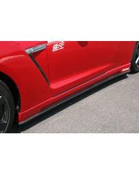 ChargeSpeed 2007-2020 Nissan GTR BottomLine Side Skirt FRP