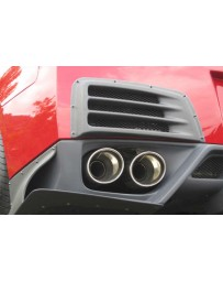 ChargeSpeed 2007-2020 Nissan GTR Carbon Rear Bumper Duct Cowl