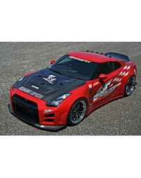 ChargeSpeed 2012-2016 Nissan GTR Wide Body Kit