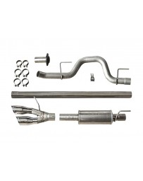ROUSH Performance F-150 Cat-Back Exhaust - 6.2L/5.0L/3.5L Side Exit (2011-2014)