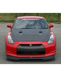 ChargeSpeed 2007-2020 GTR R35 Vented Hybrid FRP Hood