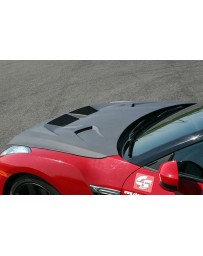 ChargeSpeed 2007-2020 GTR R35 Vented Hybrid Carbon Hood