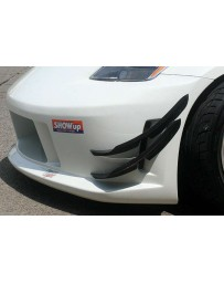 ChargeSpeed 350Z FRP Upper and Lower Canards For CS Bumper