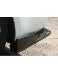 ChargeSpeed Nissan 03-08 350Z Botton Line Rear Caps FiberGlass