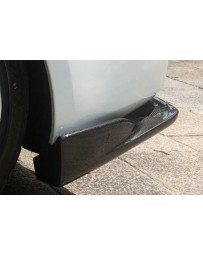 ChargeSpeed Nissan 03-08 Bottom Line Rear Caps Carbon