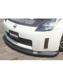 ChargeSpeed Nissan 03-05 350Z Bottom Line Front Lip Carbon