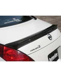 ChargeSpeed Nissan 350Z Rear Wing Carbon