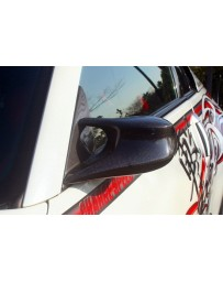 ChargeSpeed Nissan 03-08 350Z Carbon LHD Aero Mirror